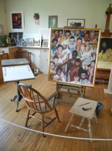 Estudio de Rockwell en Stockbridge